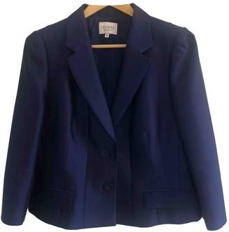 Hobbs Blue Wool Jacket for Women