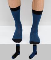 Asos Premium Socks With Wool Blend 2 Pack