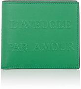 """Gucci Men's """"L'Aveugle Par Amour"""" Billfold"""