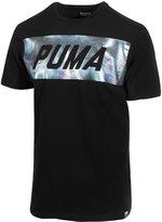 Puma Men's Holographic-Logo Cotton T-Shirt