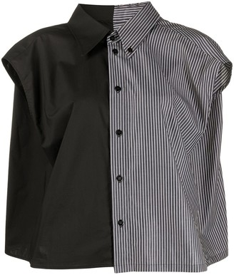 MM6 MAISON MARGIELA Panelled Design Shirt