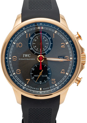 IWC Portugieser Yacht Club Rose Gold Automatic Chronograph Men's Watch 43.5MM