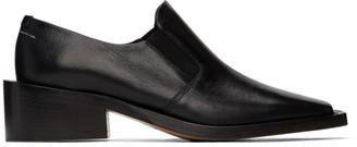 MM6 MAISON MARGIELA Black Square Toe Loafers