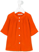 Marni cropped sleeves shirt - kids - Silk/Viscose - 4 yrs