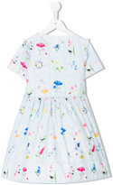 Simonetta floral print dress - kids - Cotton/Polyester - 2 yrs