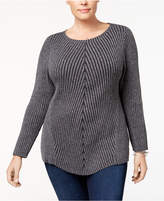 Style&Co. Style & Co Ribbed-Knit Sweater, Created for Macy's