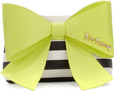 Betsey Johnson Big Bow Chic Clutch Bag, Citron
