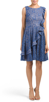 Made In USA Bertha Ruffle Dress
