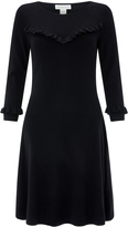 Marianne Ruffle Fit & Flare Dress