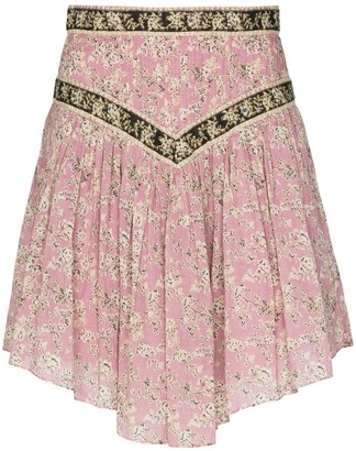 Etoile Isabel Marant Valerie flared mini skirt