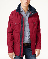 Izod Men's Four-Pocket Raincoat and Windbreaker Jacket