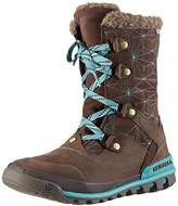 Merrell Silversun Lace Wtpf, Women's Warm lined slip-on boots half length,(40 EU)