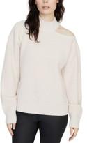 Sanctuary Cold Shoulder Crewneck Sweater
