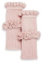 Rebecca Minkoff Ruffled Fingerless Gloves