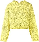 J.W.Anderson tie detail top - women - Cotton - M