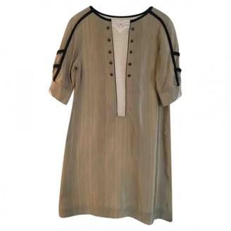Mayle \N Beige Silk Dress for Women