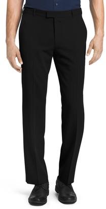 Van Heusen Men's Flex Slim-Fit Melange Twill Flat-Front Pants
