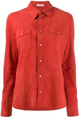 P.A.R.O.S.H. Suede Shirt