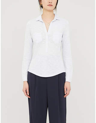 The White Company Relaxed-fit cotton-jersey shirt