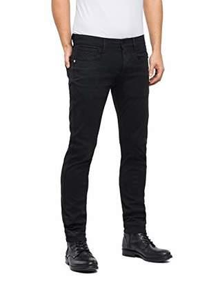 Replay Men's Anbass Slim Jeans, (Black 98), W30/L32 (Size: 30)