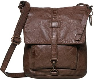 Frye Rubie Crossbody (Dark Brown) Cross Body Handbags