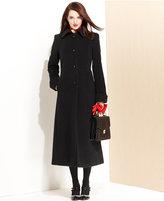 Jones New York Coat, Wool-Blend Maxi Walker