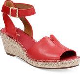 Clarks Artisan Women's Petrina Selma Espadrille Wedge Sandals Women's Shoes