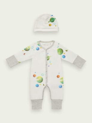 Scotch & Soda Organic cotton baby giftset | Boys