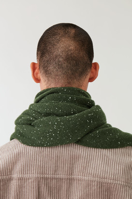 Cos Speckled Cashmere Scarf