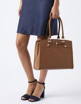 Monsoon Belinda Bow Triple Compartment Tote Bag