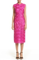 Monique Lhuillier Women's Lace Sheath Dress