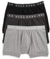 BOSS Men's 3-Pack Cotton Boxer Briefs