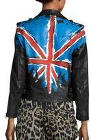 Faith Connexion Boxy Tag Lamb Leather Jacket