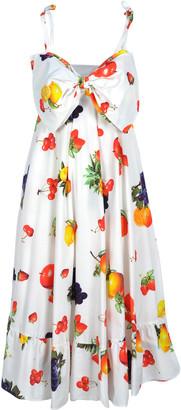 MSGM Fruits Print Dress