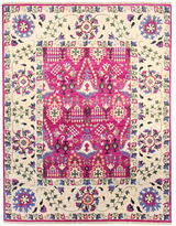 F.J. Kashanian One of a Kind Suzani Hand-Knotted Wool Rug