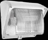 RAB Lighting WALLPACK 70W HPS 120V NPF GLASS LENS LAMP WHITE - WP1GSN