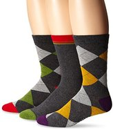 Ben Sherman Men's Richard Crew Socks (Pack of 3)