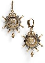 Alexander McQueen Women's Medallion Drop Earrings