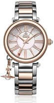 Vivienne Westwood Women's Quartz Watch with Mother of Pearl Dial Analogue Display and Silver Metal Bracelet VV006PRSSL