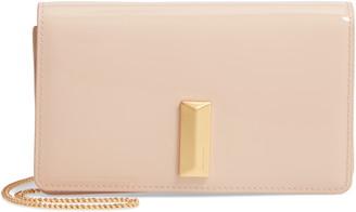 HUGO BOSS Nathalie Mini Leather Crossbody Bag