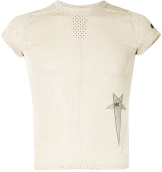 Rick Owens X Champion Small Level mesh T-shirt