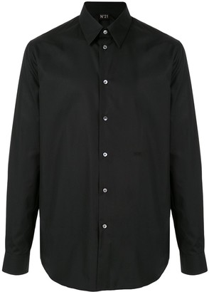 No.21 Pointed Collar Button Down Shirt