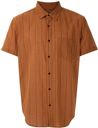 OSKLEN Striped Short Sleeved Shirt
