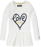 Tommy Hilfiger Th Kids Hearts Long Sleeve Tee