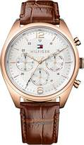 Tommy Hilfiger Men Analogue Watch with Metallic Dial Analogue