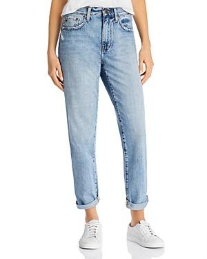 Pistola Denim Presley High-Rise Straight-Leg Jeans in Brazil Blue - 100% Exclusive
