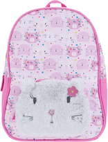 Accessorize Fluffy Cat Pocket Backpack
