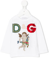 Dolce & Gabbana embroidered logo patches T-shirt