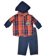 Asstd National Brand Toddler Boys 2-pc. Plaid Pant Set