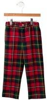 Oscar de la Renta Boys' Wool Plaid Pants w/ Tags